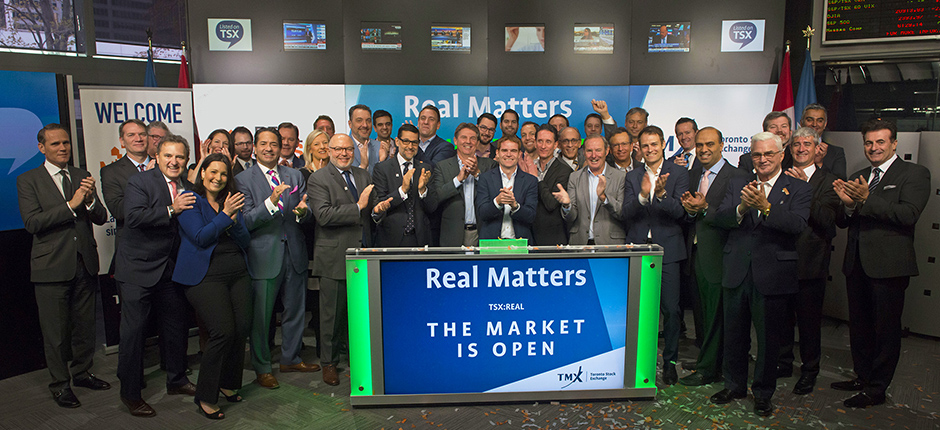 Real Matters Completes IPO and Opens the Market at $1.13 Billion