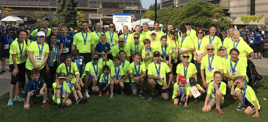 Wildeboer Dellelce Raises $40,000 for RBC's Race For the Kids Law Firm Challenge